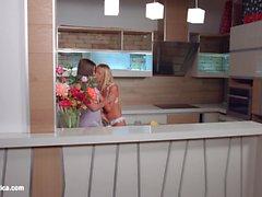 My kitchen love by Sapphic Erotica - Kiara Lord and Suzie C