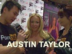 PornhubTV Austin Taylor Interview at 2014 AVN Awards