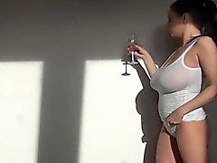 Dauergeile Hausfrau Doppelpenetration
