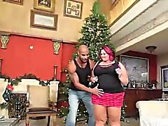 Chubby Christmas seduction