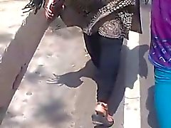 Collegemate reshma ass walk(reshma's 2nd video)