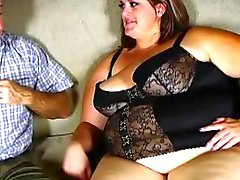 Super erotischen big beautiful Frau genießt eine Arschfick