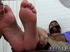 En hairy legs men and skater guys feet gay Chase LaChance le