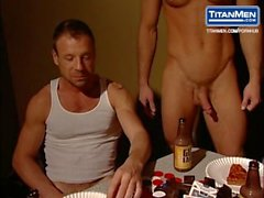 Scene from Campus Pizza by Joe Gage with Damien Crosse, Dean Flynn and More