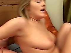 Delighting a shaft with blowjob