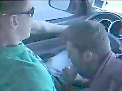 Chupada en el automóvil