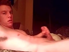 Football Jock Jerks Off On Cam