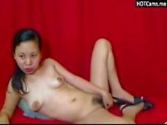 Взрослых филипина Втирание ее волосатая Pussy для вас
