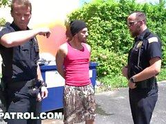 GAYPATROL - Silent Alarm Triggers Cops To Fuck a Perp (xg16057)