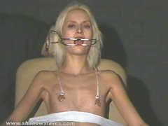 Cruel amateur bdsm and needle tit tortures