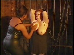 Big Tit BBW Tied Up and Taught a Lesson