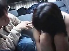 Horny Asian boys invite attractive girls for wild sexual ex