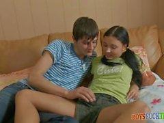 Nastya and Ilya