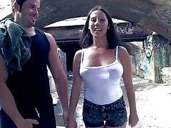 ChicasLoca - Big boobed Noemi Jolie starring in outdoor Spanish porn