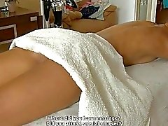 Taming pussy after hot massage