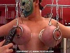 Harter Kern BDSM.puncture des chest.punishment