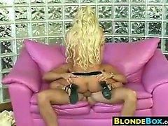 Blonde Whore In High Heels