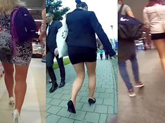 legs and butts in public compilation e