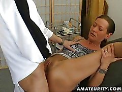 Amateur vrouw anale creampie