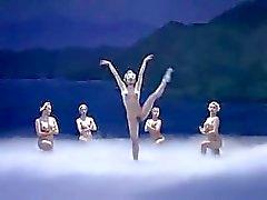 De Ballet asiática que despida