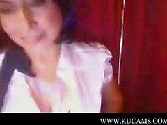 Top girl alone at home paula teachers s