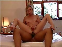 Sexy mature lady on top - pussy and anal