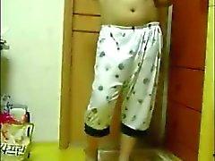 Indian girl strips on webcam