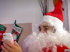 Spizoo - Watch Jessica Jaymes fucking Santa Claus, big boobs
