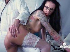 BadTime Stories - German BDSM fun with naughty MILF nurse