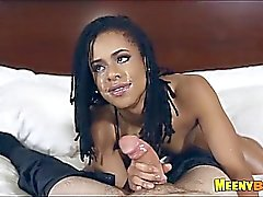 Pretty Black Amateur Blowjob And Sex Kira Noir