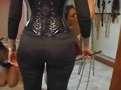 Shemale Trained and Chained!
