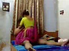 Evin sahibi ile Desi karısı seks mms