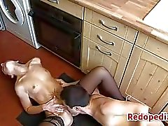 Mother Fucked On A Kitchen Floor