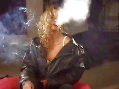 Smokin sexy blonde