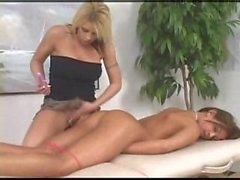 Ass Dildo After Massage