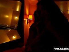 Sıcak sikiş Fest dörtlünün içindeki Nina Kayy Bayan Raquel & Betty Bang