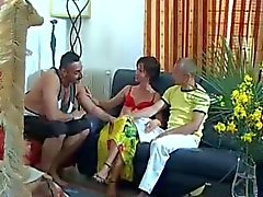 Bisexual Couple Share a Hot Threesome