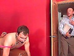 Husband Eats a Monsterous Load of Cum Off