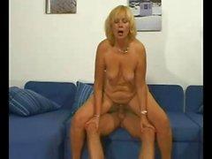 nice blonde mature