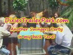 Another FUN Swingers Party in back yard
