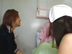 Horny young Asian schoolgirl getting nailed in the class and at the grocery store