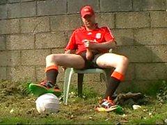 Outdoor Soccer Jerk-Off