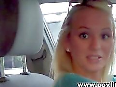 Emily Austin - POV Blowjob w/ Facial