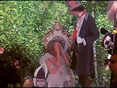 Алиса находит , затрагивает и облизывает хороший петух
