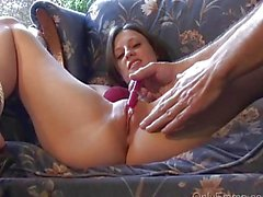 Emma Bound and Masturbated