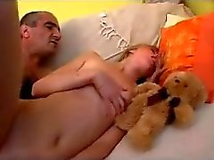 OLD MAN AND TEEN n11 blonde hairy teen