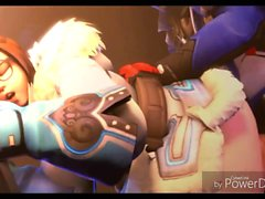 OVERWATCH 3d hentai Mei Movie Fuck Collection