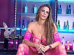 Linsey Dawn Mckensie in RLC Playboy Bar