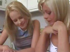 The Most Beautiful Lesbian Girls Kiss