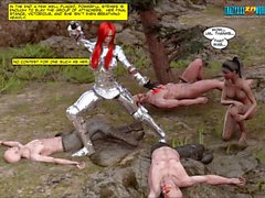 3D Comic: Blade Maidens. Episodes 1-3